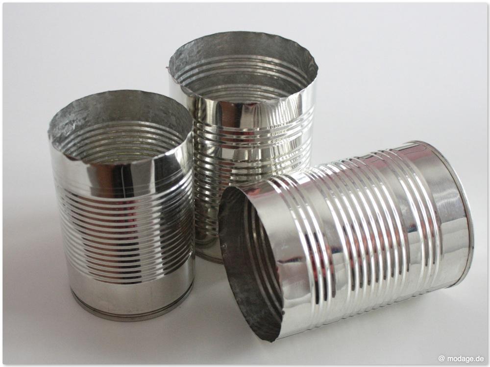 Nähblog Modage Upcycling Konservendosen Aufhübschen