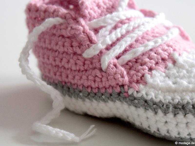 Nähblog Modage Gehäkelte Babyschuhe Ein Süßes Geschenk Zur Geburt