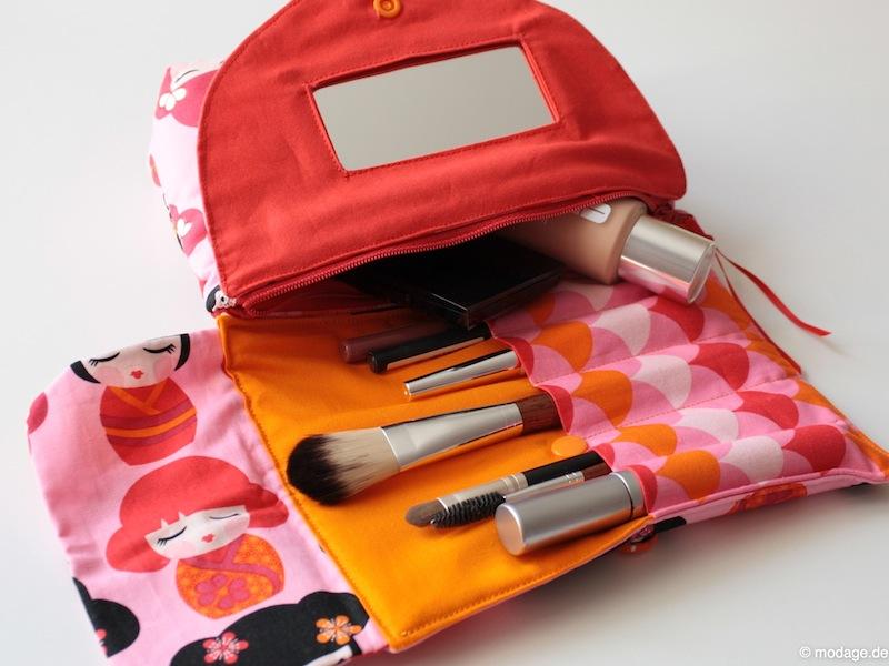 n hblog modage ausprobiert kosmetiktasche mit spiegel. Black Bedroom Furniture Sets. Home Design Ideas