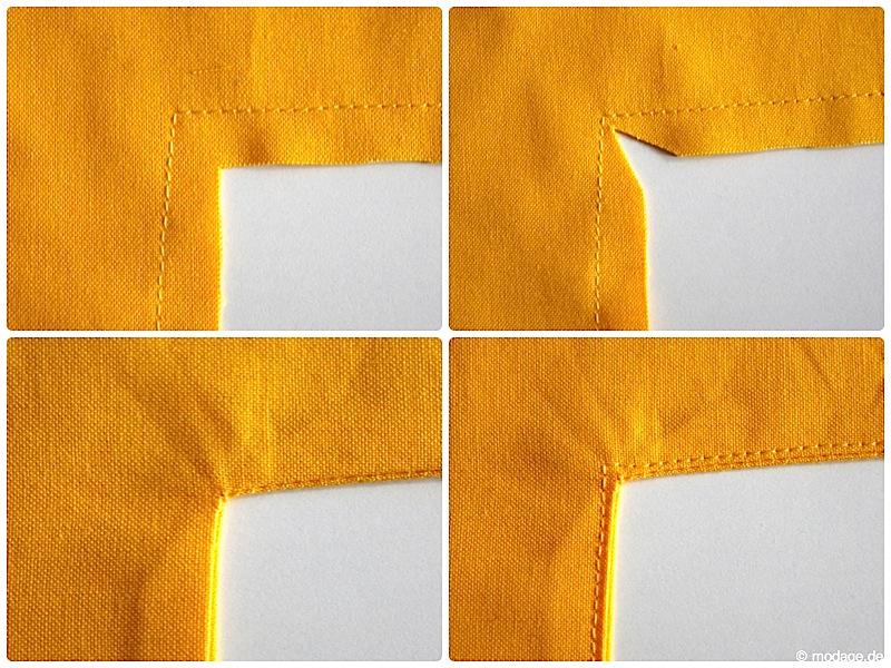 Einschneiden von Nahtzugaben Rundungen Kreise Ecken naehen modage 3
