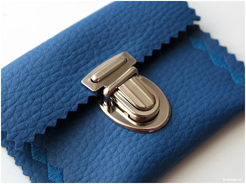 Steckschloss anbringen Magnetschloss Drehverschluss anbringen Taschenverschluss modage 2