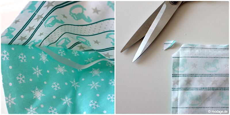 Adventskalender nähen Nähanleitung Freebook Weihnachten DIY