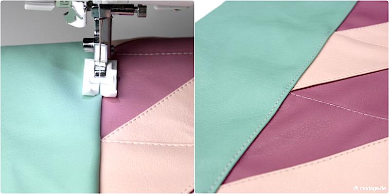 Sew Along Clutch Emilia Patchwork 13
