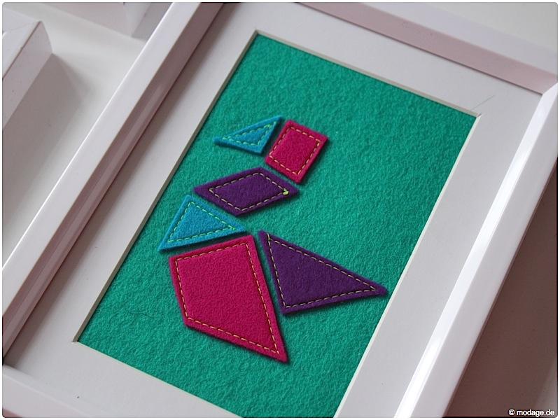 n hblog modage tangram wandbilder aus filz. Black Bedroom Furniture Sets. Home Design Ideas
