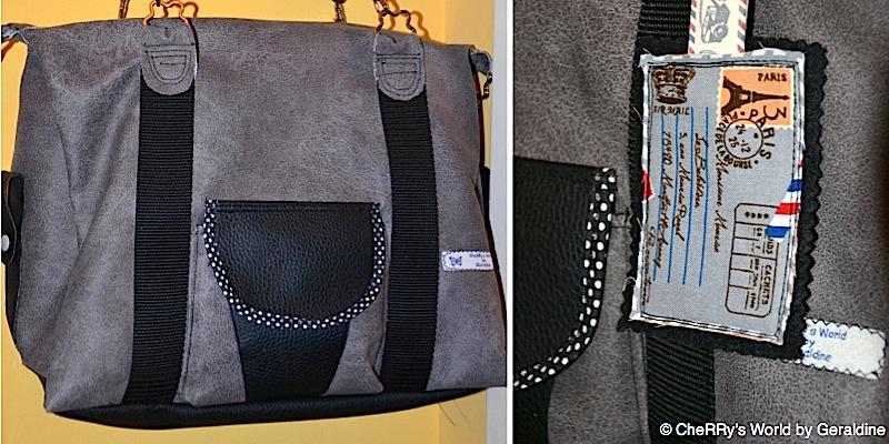 Handtasche Mary genaeht von CheRRy's World by Geraldine