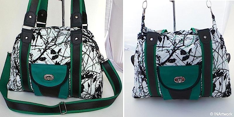 Handtasche Mary genaeht von INArtwork