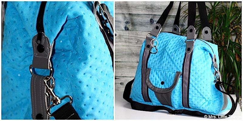 Handtasche Mary genaeht von Mrs Little Things