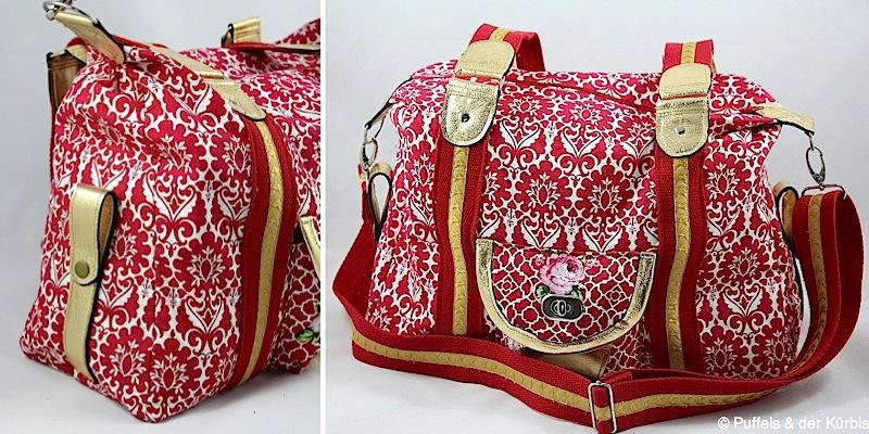 Handtasche Mary genaeht von Puffels & der Kuerbis