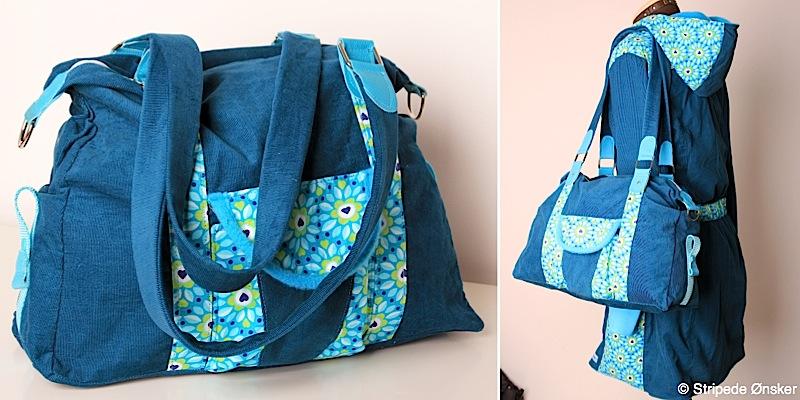 Handtasche Mary genaeht von Stripede Onsker