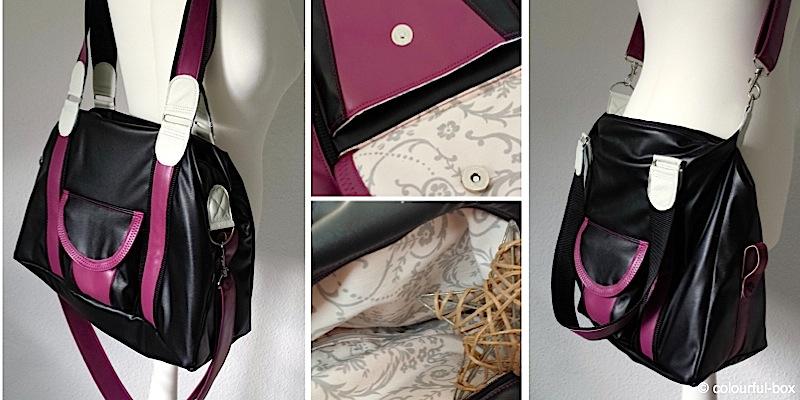 Handtasche Mary genaeht von colourful-box