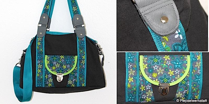Handtasche Mary genaeht von piepselwerkstatt