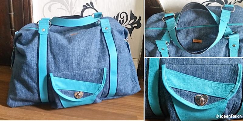 Reisetasche Mary-Ann genaeht von IdeenReich