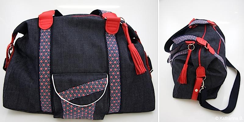 Reisetasche Mary-Ann genaeht von Katharina B