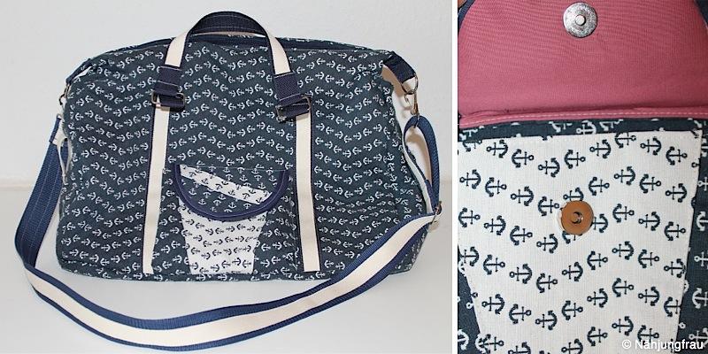 Reisetasche Mary-Ann genaeht von Naehjungfrau