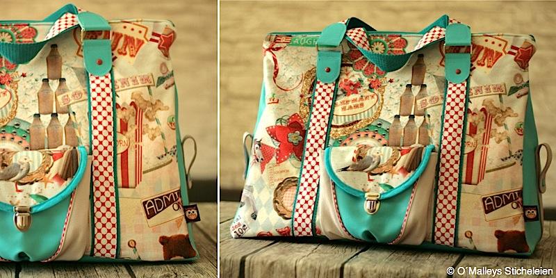 Reisetasche Mary-Ann genaeht von OMalleysSticheleien