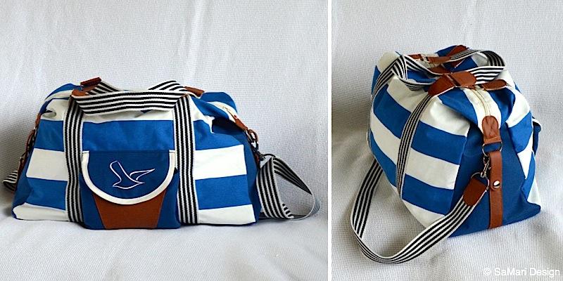Reisetasche Mary-Ann genaeht von SaMari Design