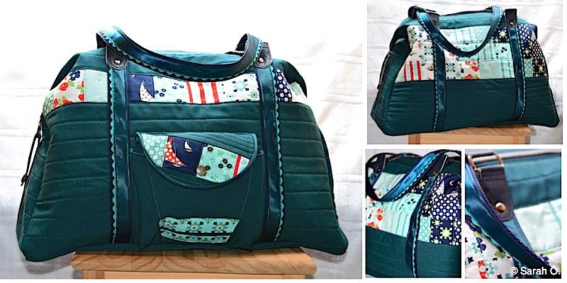 Reisetasche Mary-Ann genaeht von Sarah Oe.