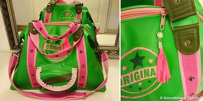 Reisetasche Mary-Ann genaeht von Schmidtchens FarbStoff