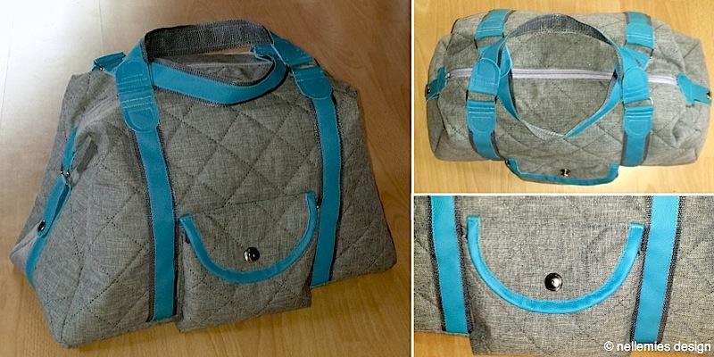 Reisetasche Mary-Ann genaeht von nellemiesdesign