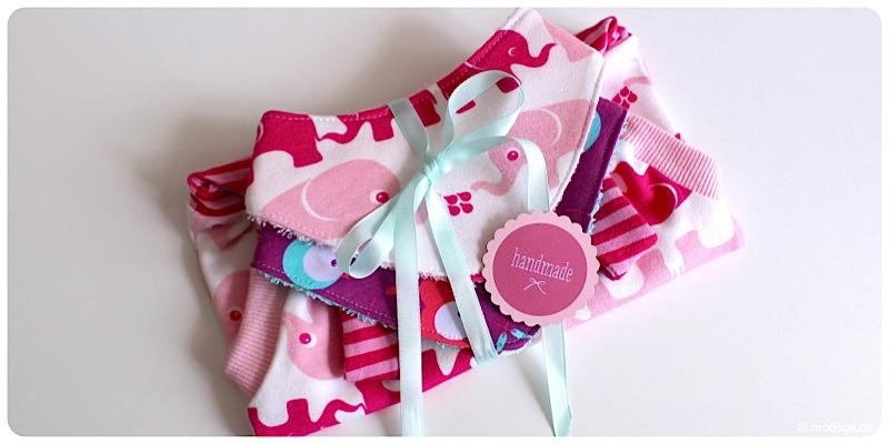 Elefantenstoff - Geschenk zur Geburt 9