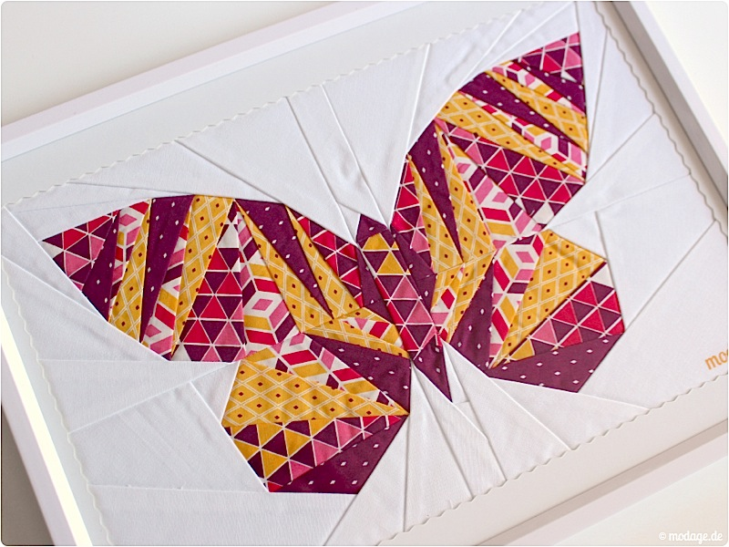 Patchwork_take wing mini_paperpiecing Schmetterling 3
