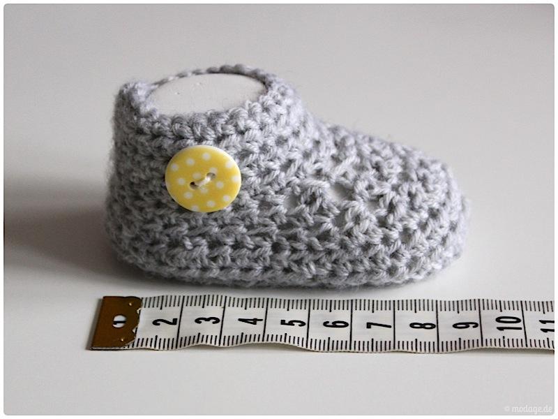 Gehaekelte Babybooties 6