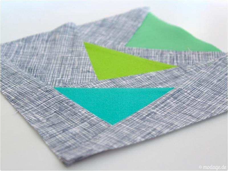 Paperpiecing Druckerhaube 8