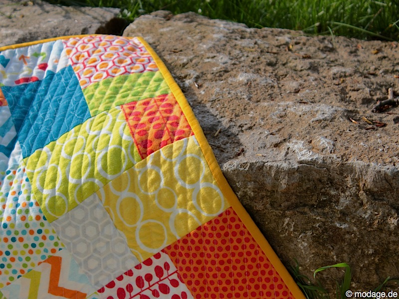 Quilt Patchworkdecke makini 1