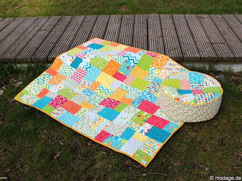 Quilt Patchworkdecke makini 6