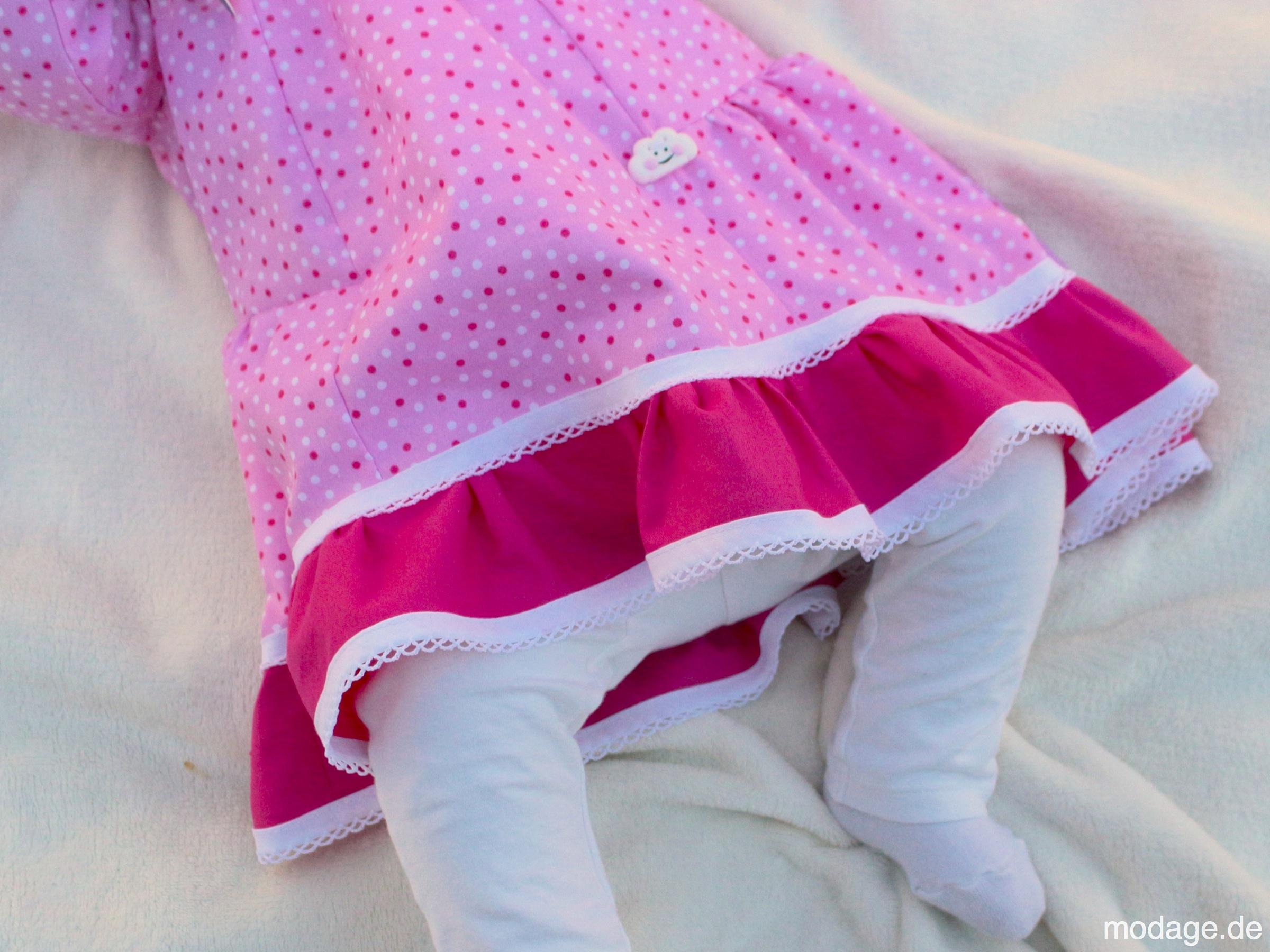 Perla Bluse Kleidversion mamasliebchen