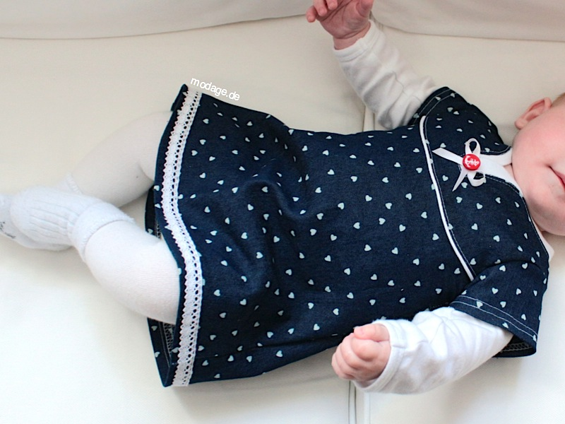 Kleid #23 BettyBaby Jeanskleid