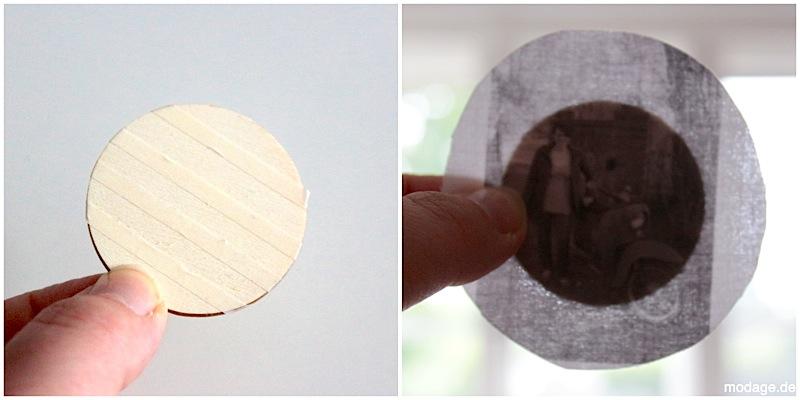 Vintage Poshys DIY Mini-Stickrahmen