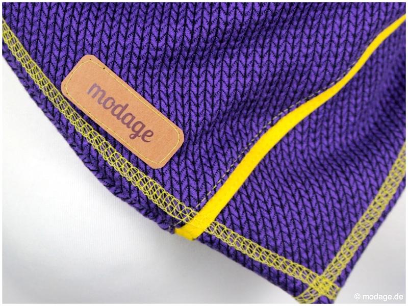 Lieloop und Beanie Albstoffe Knit Knit