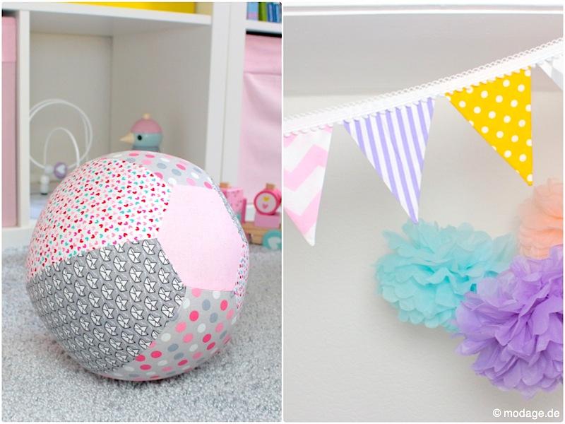 Nähblog modage - Nähen fürs Kinderzimmer: Tipi, Luftballonhülle und Co