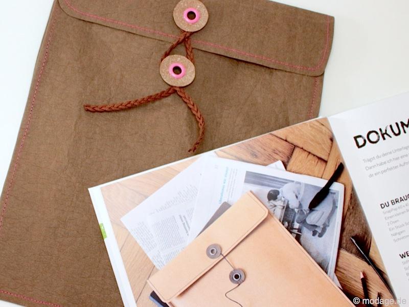 Tasche aus SnapPap Plus Releda