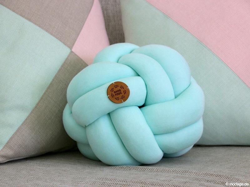 Kissenhüllen Nähen nähblog modage kissenliebe knotenkissen und geometrische kissenhüllen