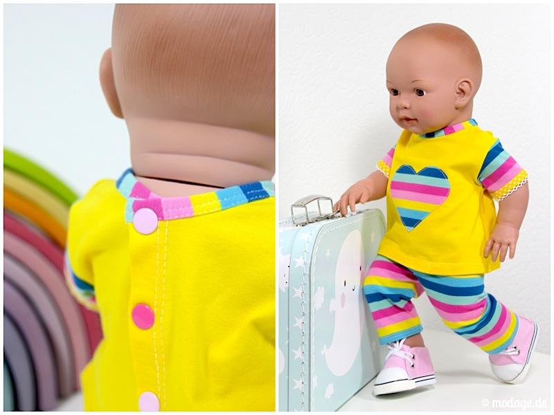 Puppenkleidung naehen