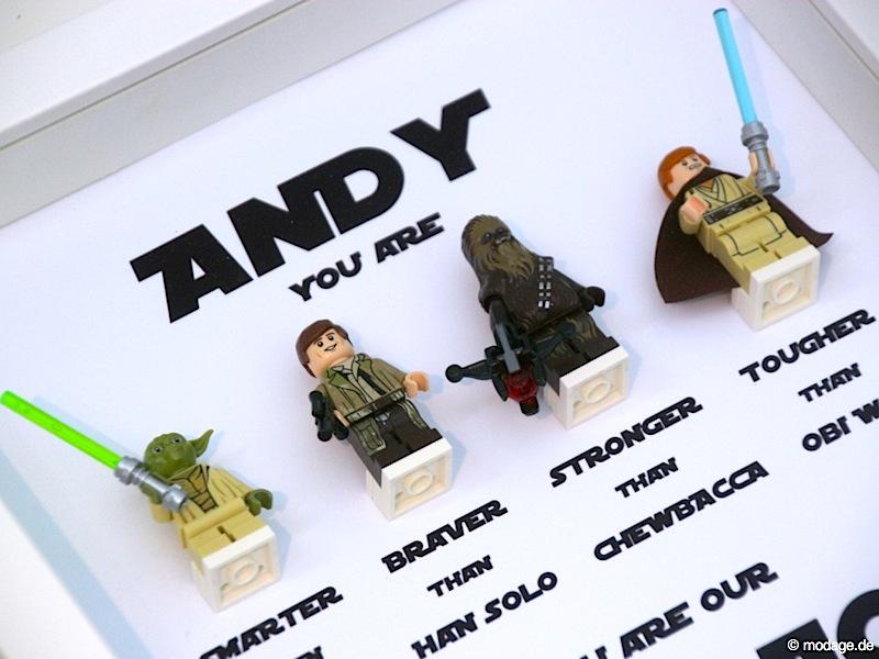 Star Wars Bilderrahmen selbstgemacht