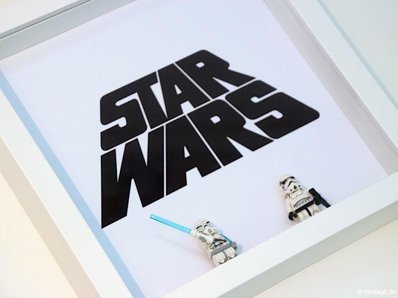 Star Wars Bilderrahmen modage.de 4 - Nähblog modage