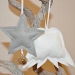 Zu Gast Lütte Jules: DIY Filzanhänger für den Weihnachtsbaum