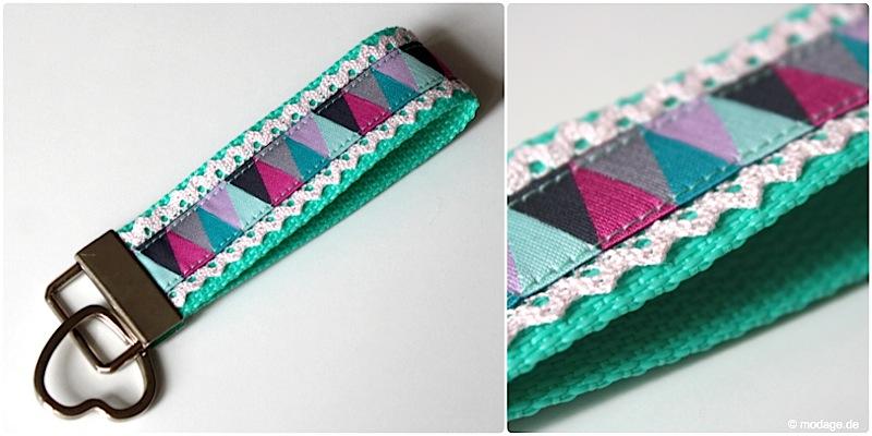 Favorit Nähblog modage - Kleines Accessoire: DIY Schlüsselband nähen CE01