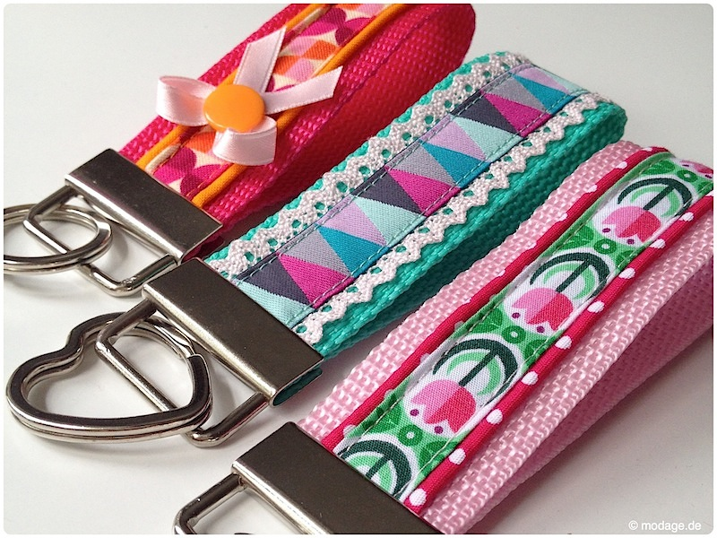Hervorragend Nähblog modage - Kleines Accessoire: DIY Schlüsselband nähen FP52