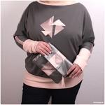 Fledermausshirt Frau Madita: Mein Geburtstags-Outfit