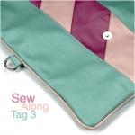 Clutch Emilia: Sew Along – Tag 3