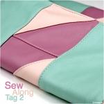 Clutch Emilia: Sew Along – Tag 2