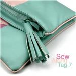 Clutch Emilia: Sew Along – Tag 7