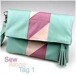 Clutch Emilia: Sew Along – Tag 1