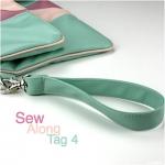 Clutch Emilia: Sew Along – Tag 4