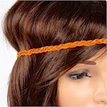 Haarband aus geflochtenem Leder