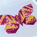 Neues ausprobiert: Take Wing Mini Paper Piecing Pattern